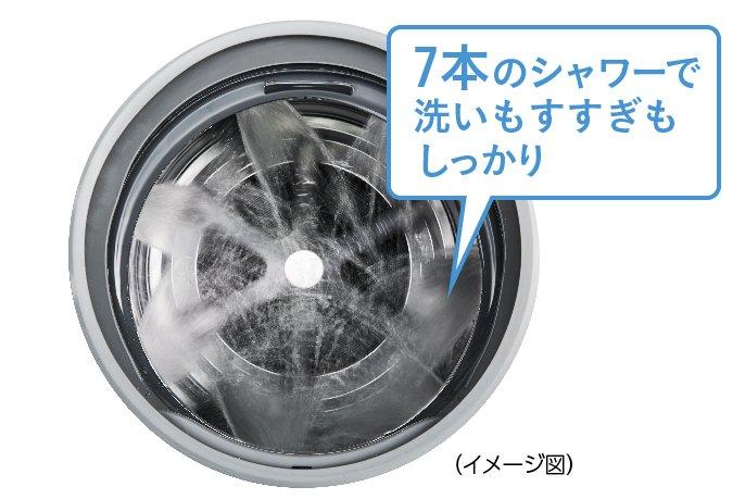 Máy giặt Panasonic NA-VX700AL giặt 10Kg và sấy 6 Kg