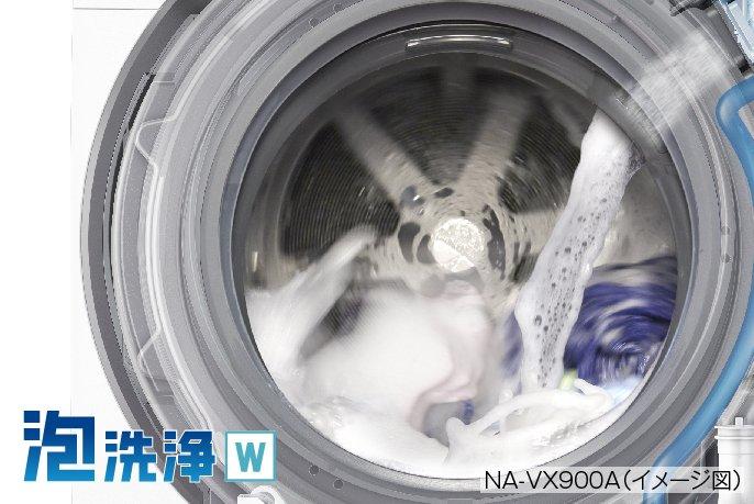 Máy giặt Panasonic NA-VX900AL giặt 11Kg, sấy 6 Kg