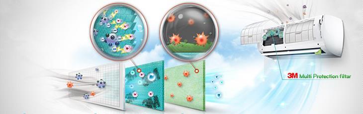 Điều hòa có công nghệ kháng khuẩn khử mùi? Có nên chọn điều hòa kháng khuẩn hay không?