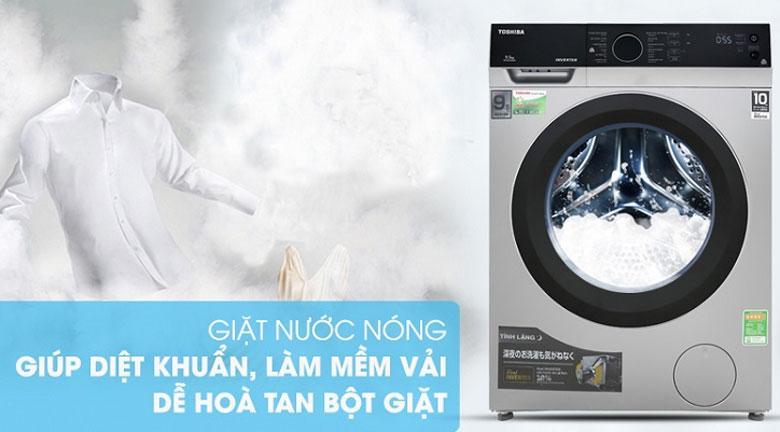 có nên mua máy giặt toshiba không