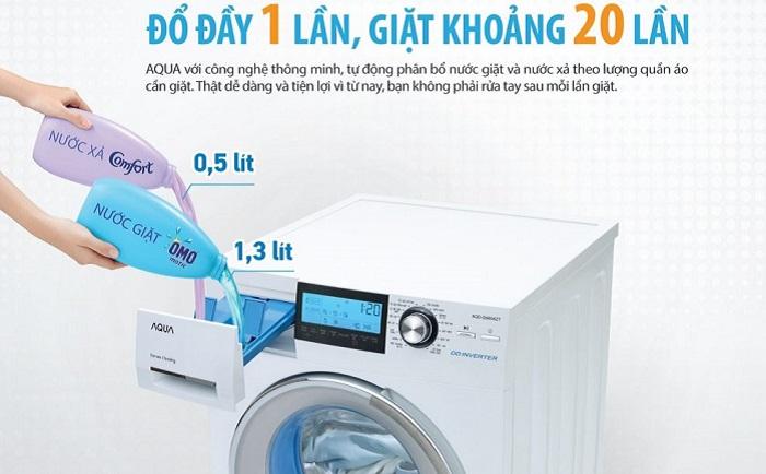 có nên mua máy giặt aqua không