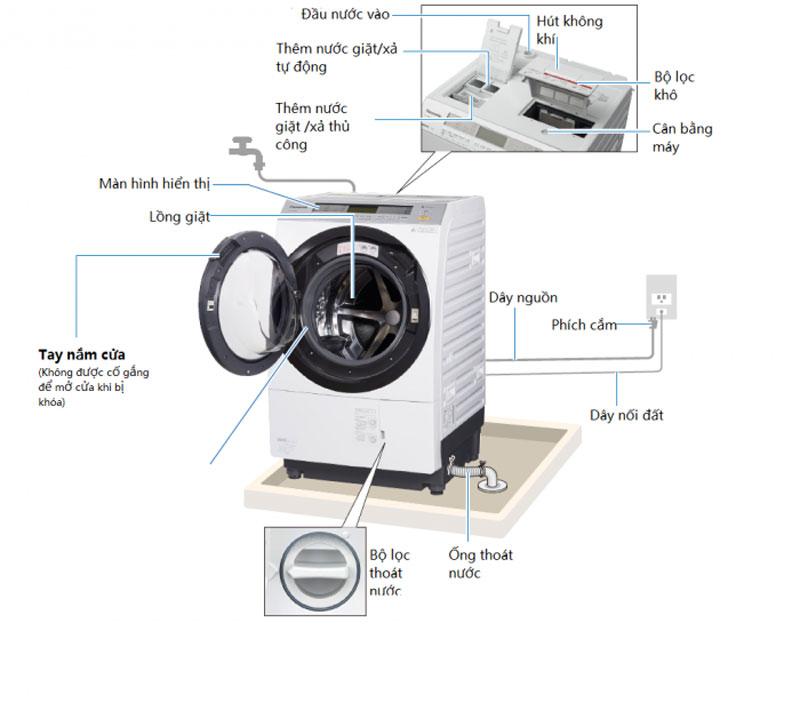 cách sử dụng máy giặt nội địa nhật toshiba
