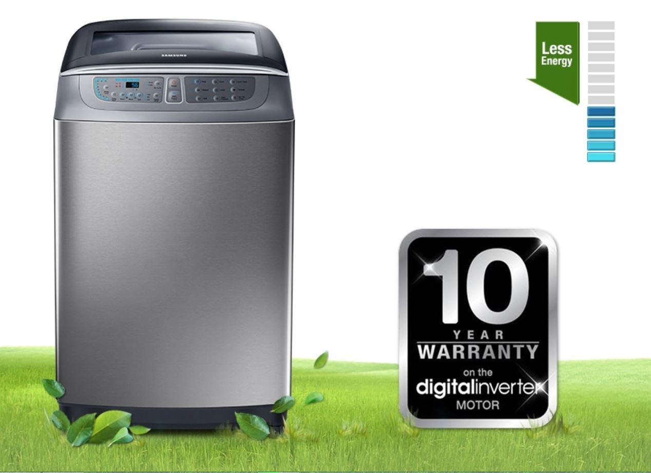 thế nào là máy giặt inverter