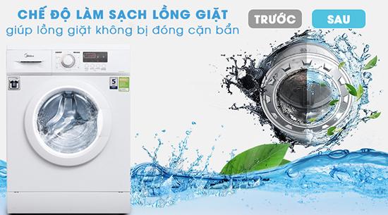 Có nên mua máy giặt midea không