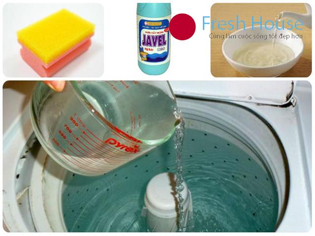 chế độ vệ sinh máy giặt nội địa nhật