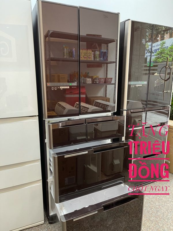 Tủ Lạnh Hitachi R C4800 Mặt Gương Cao Cấp 4