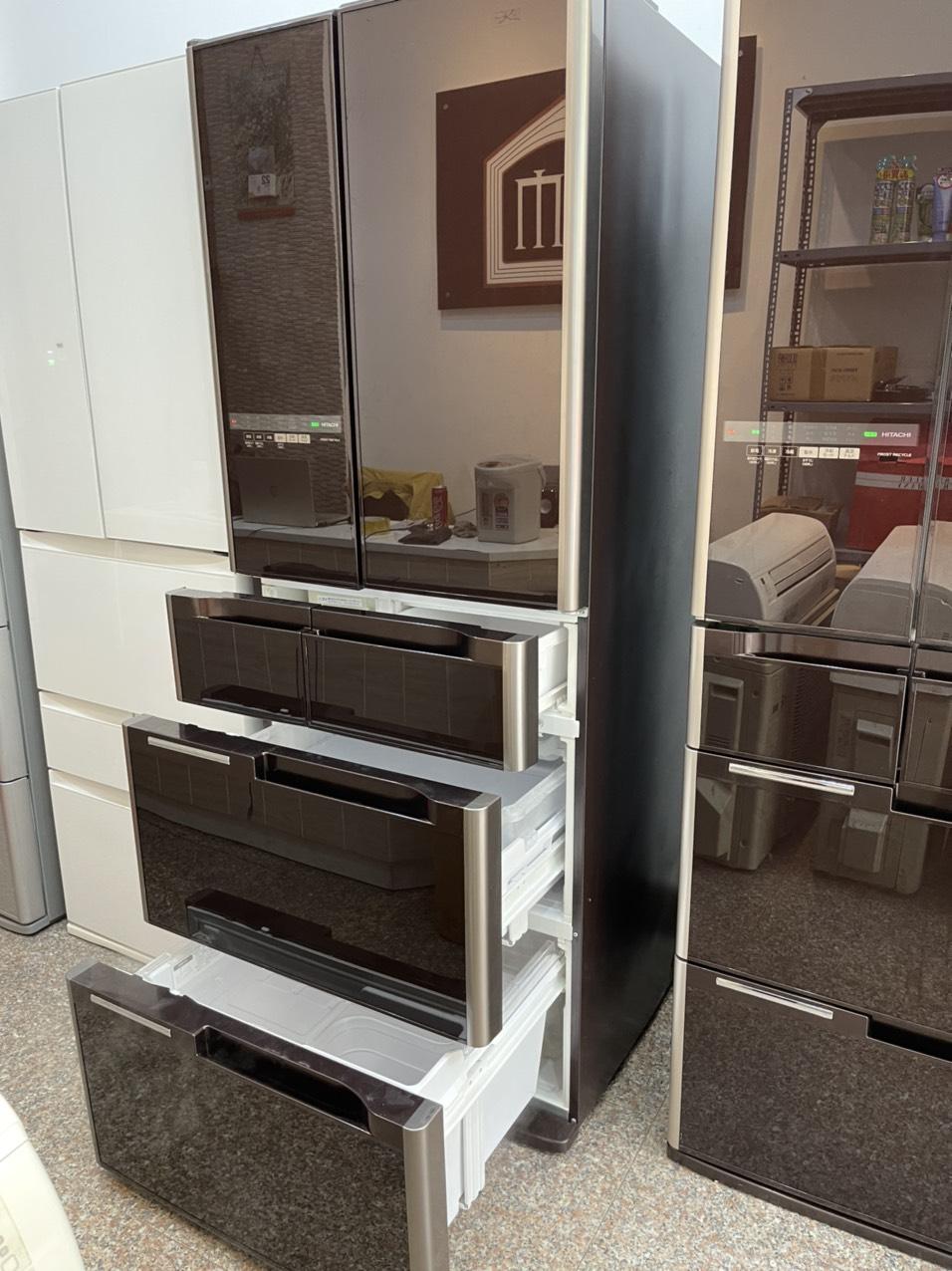 Tủ Lạnh Hitachi R C4800 Mặt Gương Cao Cấp
