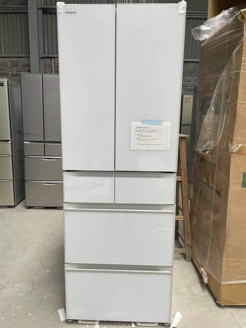Tủ Lạnh Hitachi Mặt Gương Màu Trắng R Hw52n