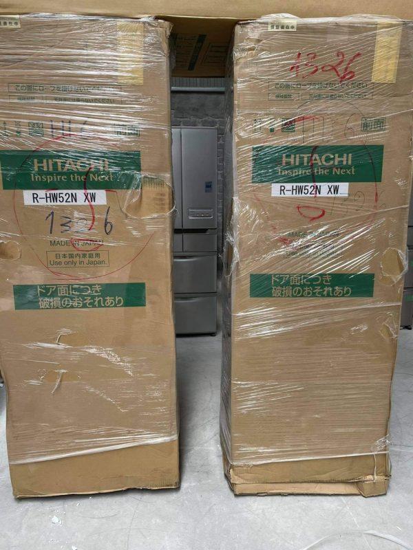 Tủ Lạnh Hitachi Mặt Gương Màu Trắng R Hw52n 3