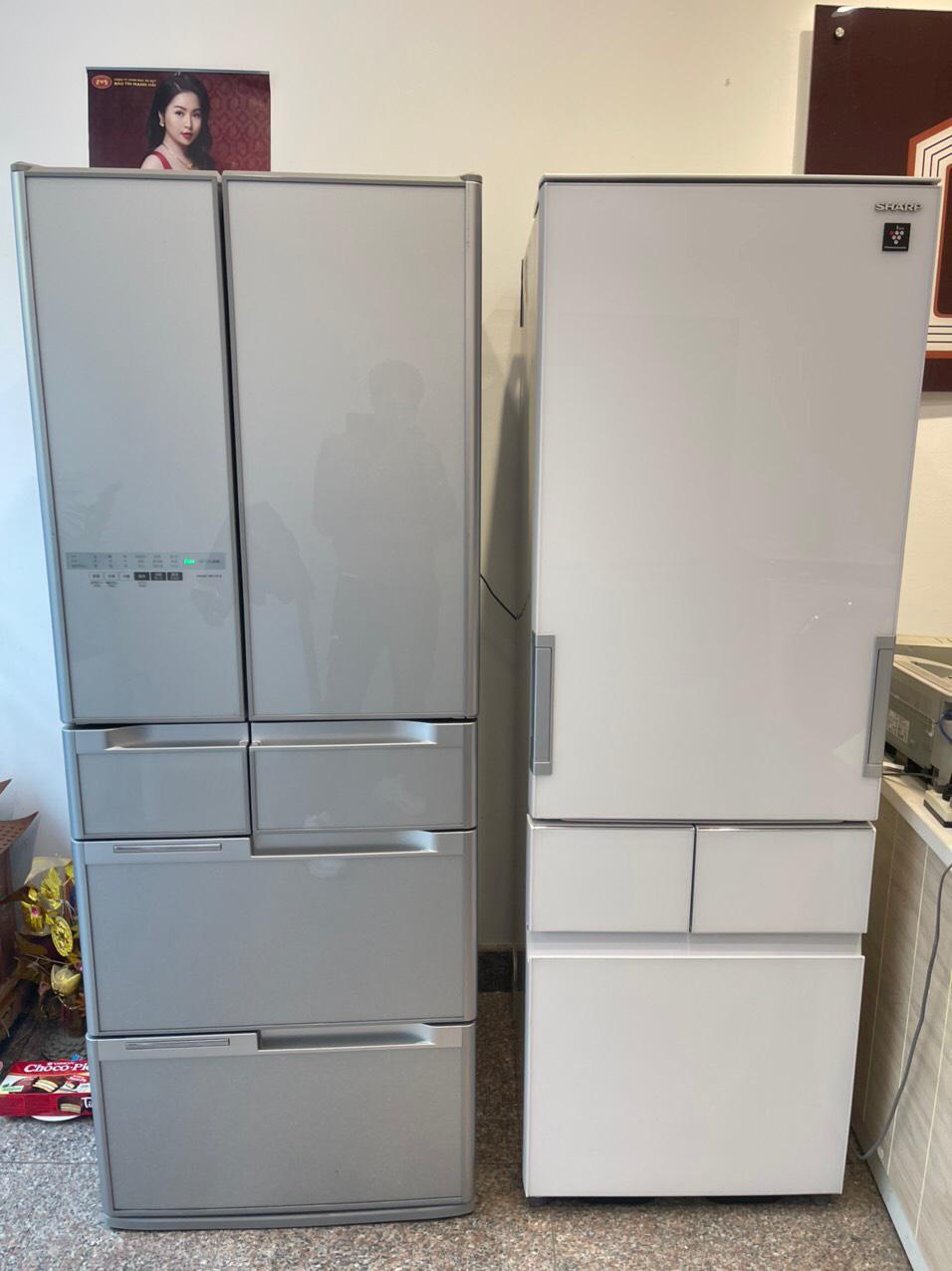 Tủ Lạnh Hitachi Màu Xanh Xám G5700